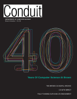 Conduit - CS Dept Newsletter