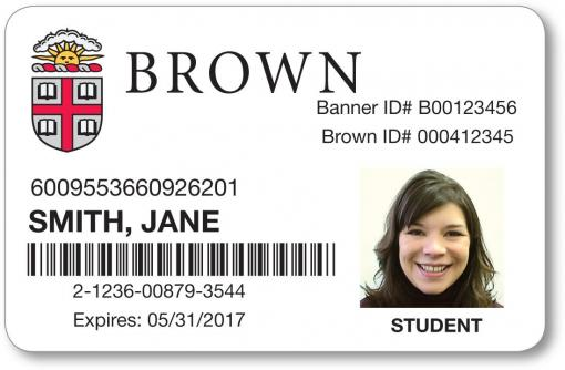 Redesign for School id badge template
